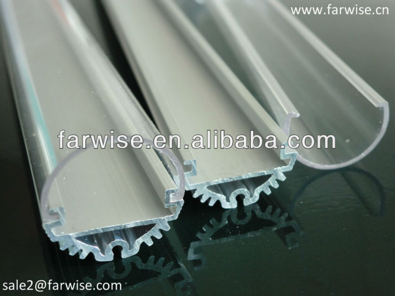 T8 LED Tube Frosted PC Plastic Cover