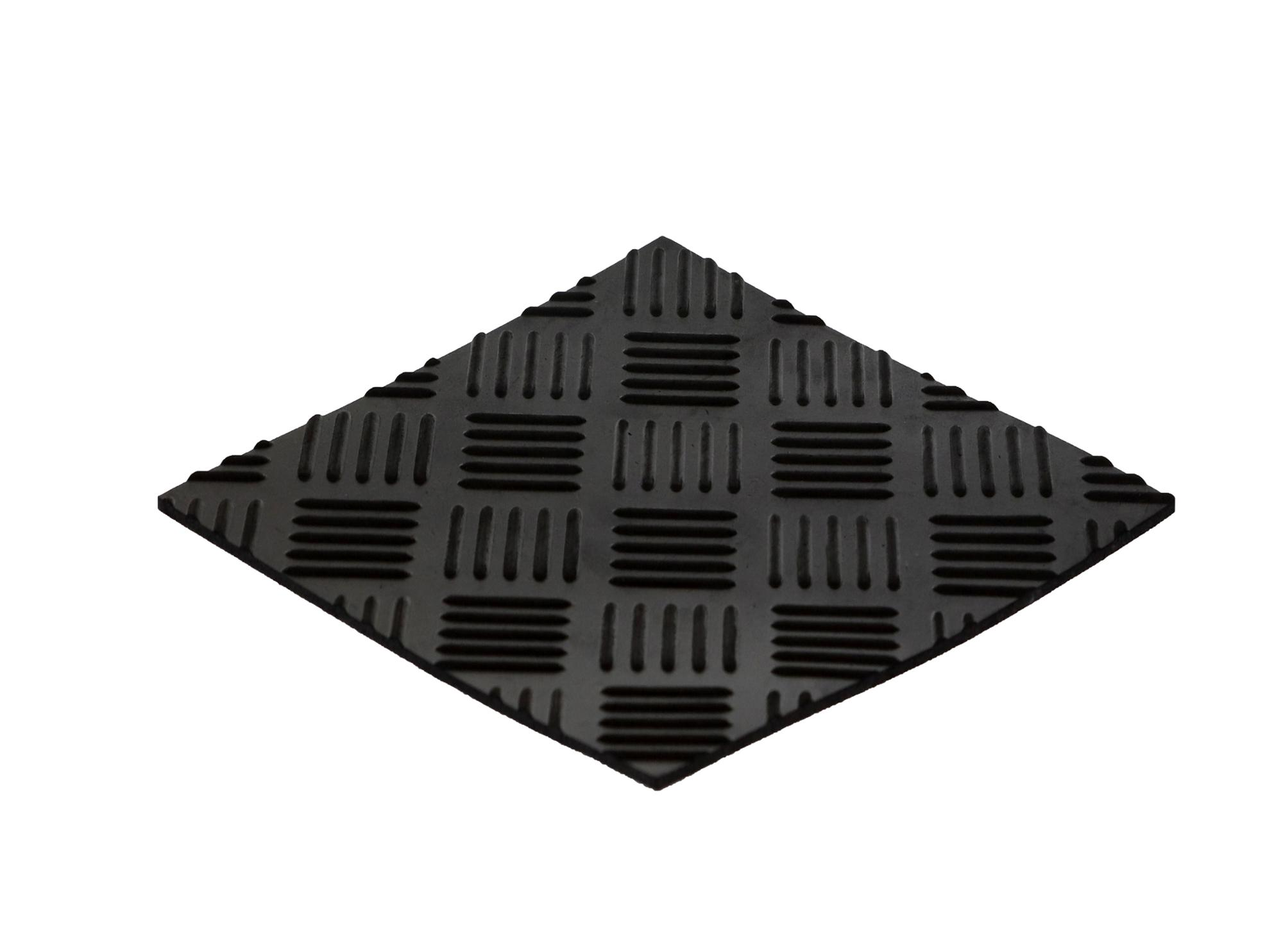 anti-slip rubber flooring mat checker rubber floor mat rubber sheet roll