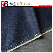 10oz Indigo Color Slub 100%Cotton Denim Fabric