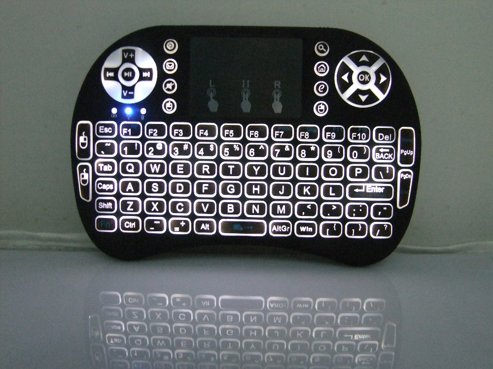 High quality Rii i8 2.4G Mini Wireless Keyboard and Mouse For Smart TV Box