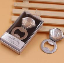 Crystal diamond ring style bottle opener wedding birthday party giveaways