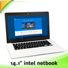 14 inch laptop computer with intel Z8300 2G+32G support win 10 os
