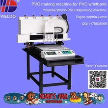 PVC band machine easy learn to making rubber band