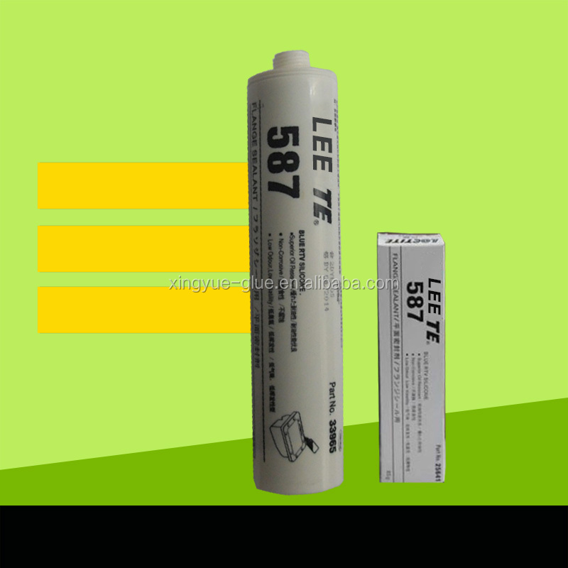 587 glue Silicone glue from High quality Industrial RTV Silicone Flange Sealant 587
