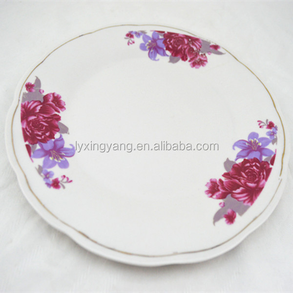 wholesale ceramic unglazed plates
