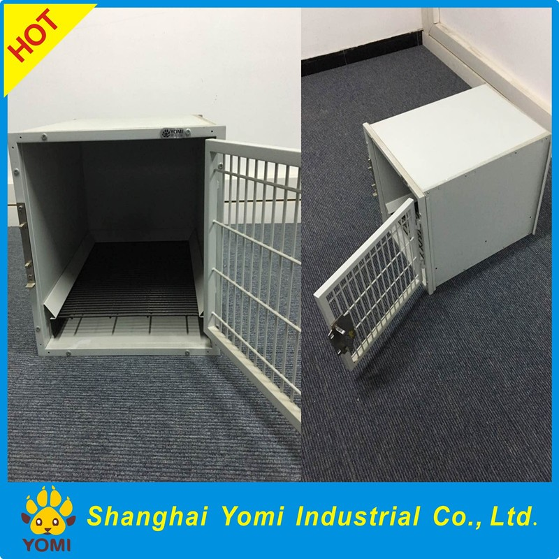 Yomi stainless steel dog cage