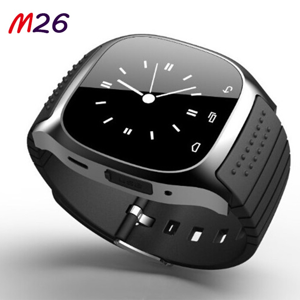 M26 Android Smart Watch Bluetooth Watch Connect With Phone Blu