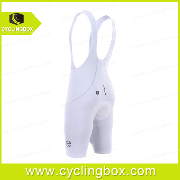 Pure white quick dry 2015 men pro team bicycle/cycling wear with bib shorts in high quality