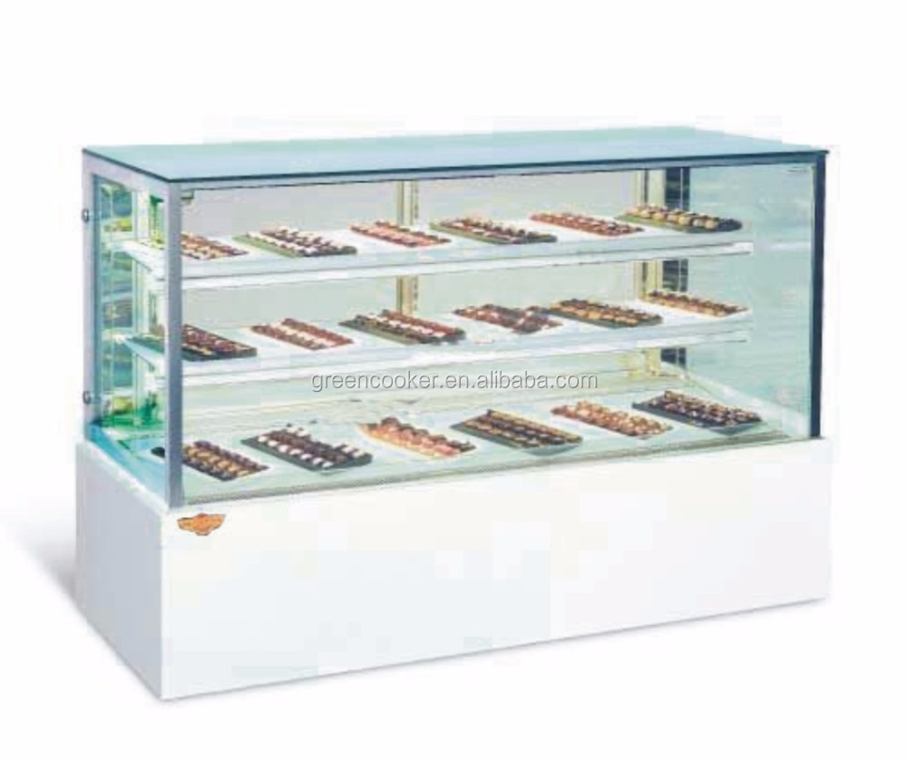 commerical display cake refrigerator