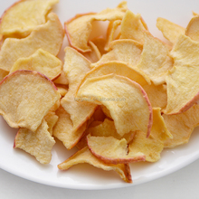 VF apple crispy chips healthy dried fruit snacks apple chip slices