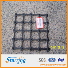 Uniaxial, biaxial and triaxial geogrids are extensively used in road reinforcement.