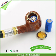 Factory price e pipe 18650 vaporizer dry herb e pipe 618 good appearance china wholesale e cigarette