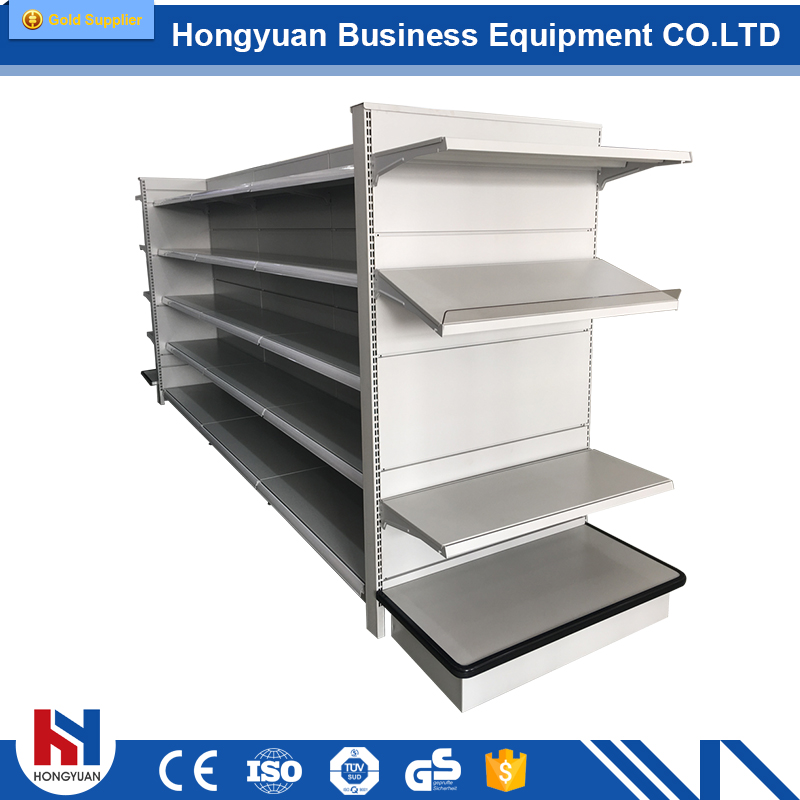 High-quality retail store and supermarket display shelf