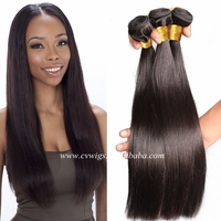 Wholesale remy hair unprocessed natural black natural brown brazilian hair finest alibaba hair products