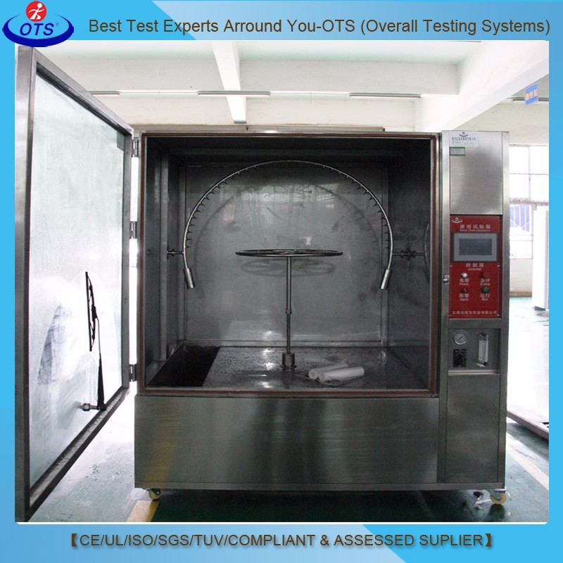 OTS Automatic Climatic Rain Spray Test Chamber Water Shower with IP Grade Ipx5 Ipx6