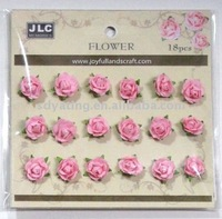 paper rose,2cm little rose,paper flower ,artificial flower ,HY-1347