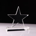 China product handmade five star crystal trophy