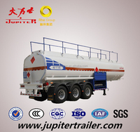 China jupiter Trailer Manufacturer Heavy Duty Fuel Oil Tanker Semi Trailers