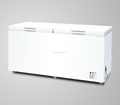 New type double top open door chest freezer 558L