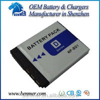 High capacity 680mAh 3.6V Lithium Ion Battery NP-BD1 for Sony