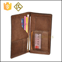 RFID Blocking Stylish Genuine Leather Wallet for Men - Excellent as Travel Bifold - Credit Card Protector - RFID OEM purse