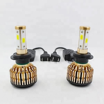 Car Accessories 38w 4000lm Single Beam Led Headlight H1 Led Bulb 12v Automobile Headlamp H1 Led For Car
