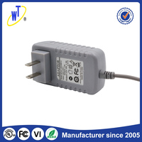 High capacity ac dc power 10W 5v 2a adapter supply stable frequency