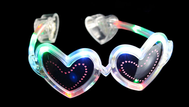 New Products Light Led Glow In The Dark Sunglasses