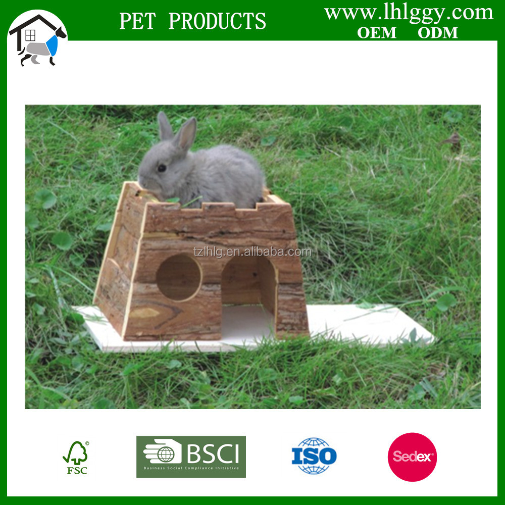 Wooden Outdoor Animal House for rabbit rat hamster cat