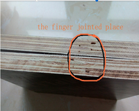 Finger jointed film faced plywood poplar core waterproof material in linyi