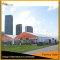 Outdoor clear span wedding party tent for rental