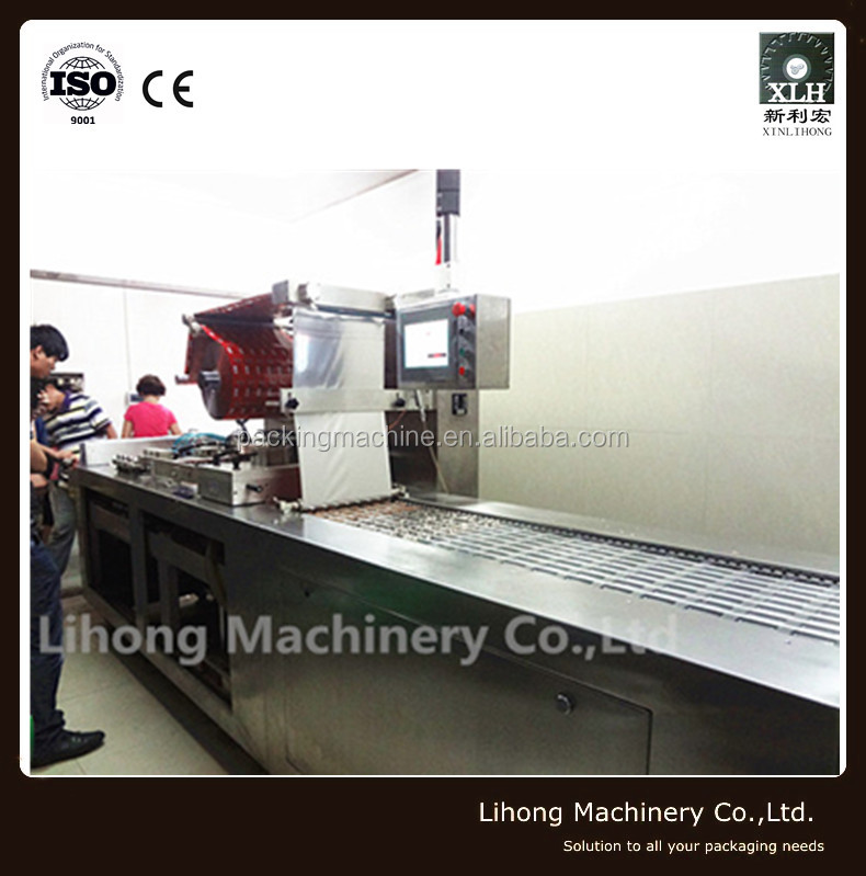 Automatic Continuous Stretch Food Vacuum Packaging Machine