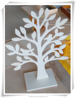 Halloween decorations use wooden trees wooden Christmas trees wooden crafts
