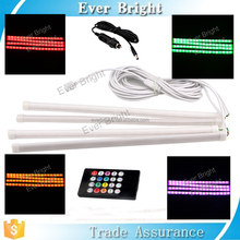New RGB LED Strip Music Control 7 Colors Car Styling Atmosphere Interior Lights atmosphere lamp
