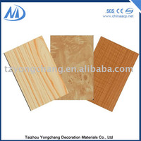 Lightweight ACP aluminum composite panel outdoor wood wall panels