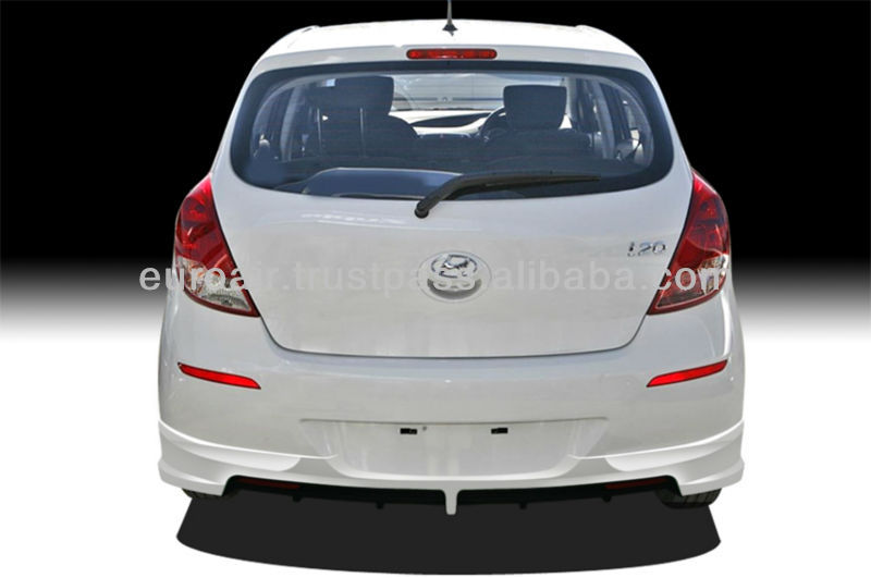 LATEST Hyundai I20 Body kit in full ABS Material - shown in rear view