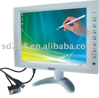 10 inch TFT LCD Car TV monitor with digital panel