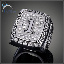 New Arrival product 2016 American Basketball Fashion Champion Gold Ring