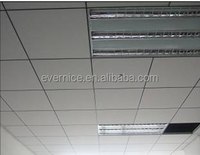 White Decorative Fiberglass Acoustical Ceiling Panels , Sound Deadening Panels
