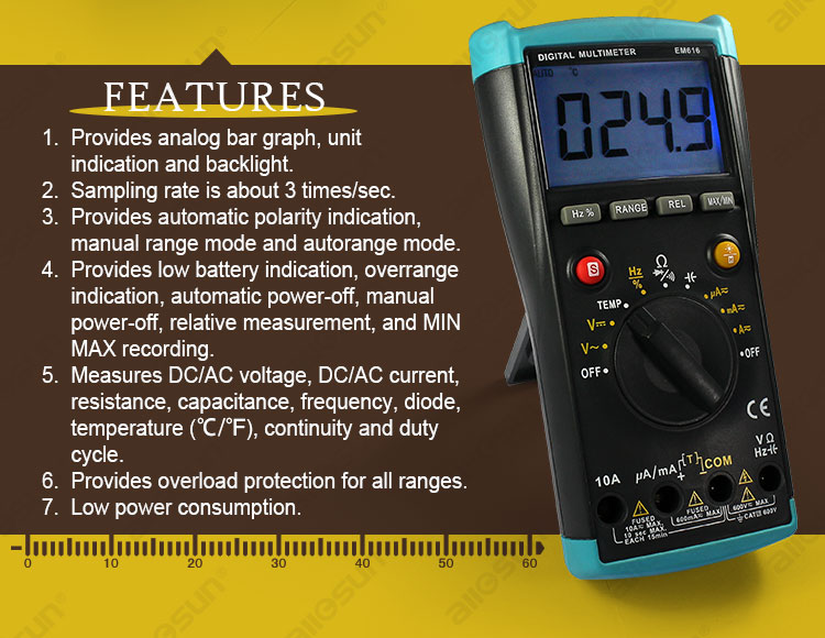 All-sun EM616 Digital Multimeter