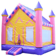 New design cheap indoor inflatable bouncers for sale for kids / children air bouncer trampoline house / small jumping castle