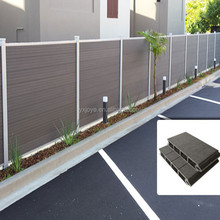 WaterProof Eco Friendly Garden Use WPC Fence
