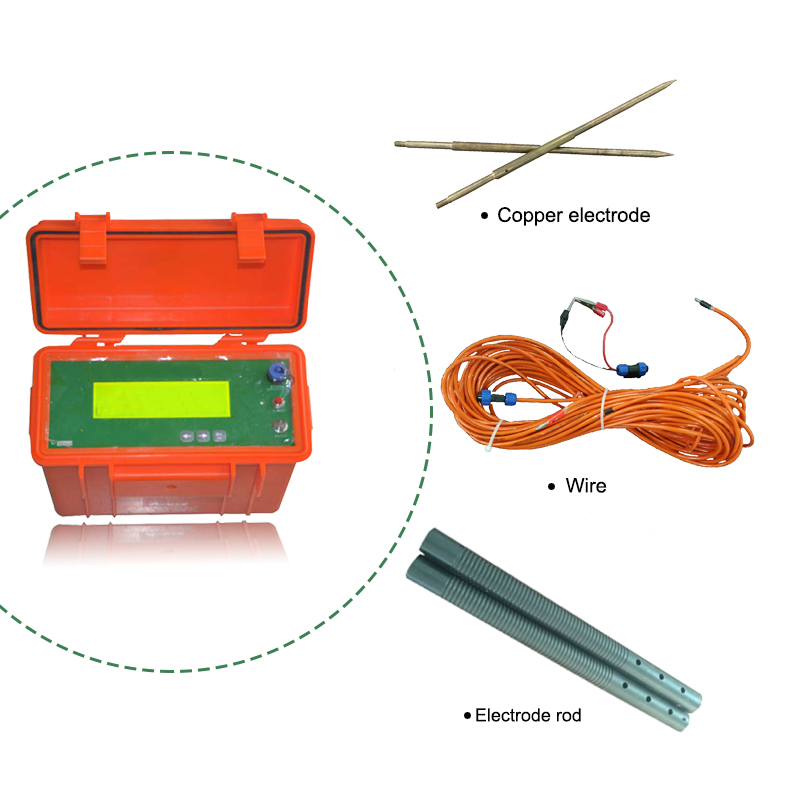 150m depth water detector underground