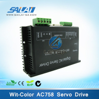 Wit-color Smart Ultra 9000 9200 printers Leadshine AC758 ac servo motor driver