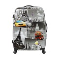 Printed Luggage With Hard Shell Spinner Luggage