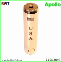 RMT 18650 copper/brass/ black apollo hookah pen vaporizers mod