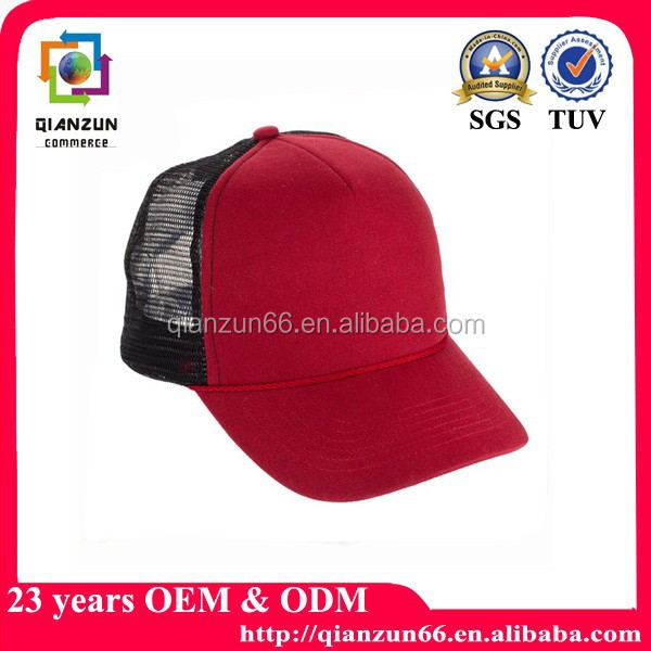 Promotion printing logo customised baseball cap