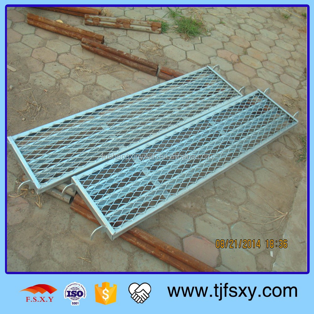 Q195 Safe Punching or Mesh Scaffolding Planks for Sale
