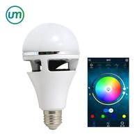 Smart LED Bulb Bluetooth 4.0 Speaker LED RGBW WIFI Light E27 Base Wireless Music Player APP Remote Control Bulb