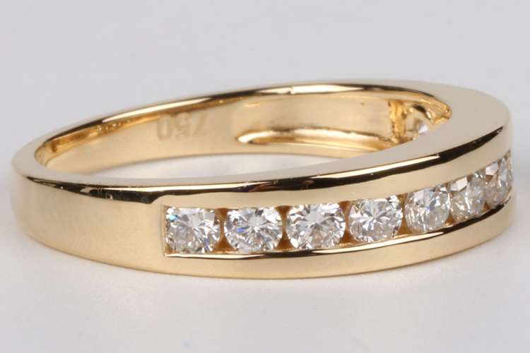 Polly Latest wedding ring designs 18k gold new model wedding ring